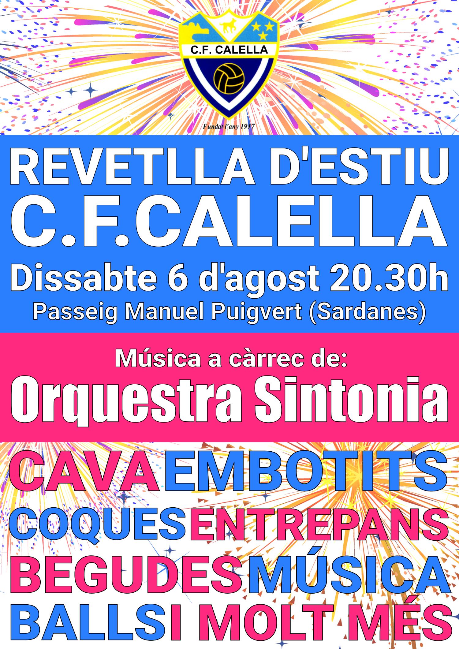 Revetlla d'estiu del C.F.Calella